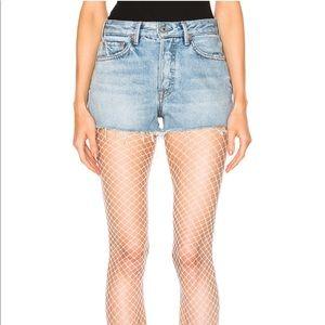 NWT GRLFRND Cindy shorts in bad reputation sz 28